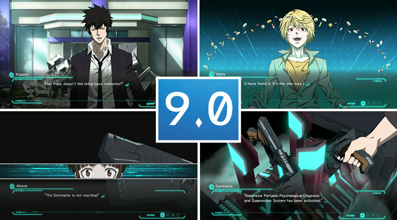 Review Psycho-Pass: Mandatory Happiness PS Vita