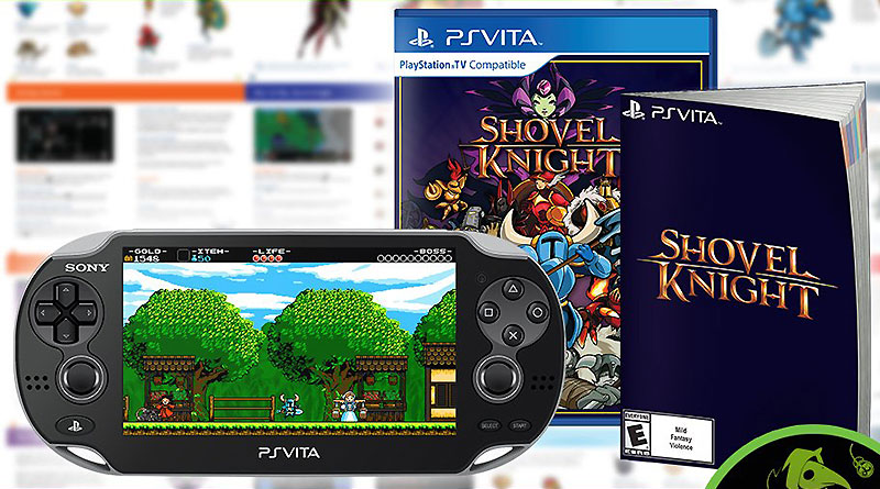 Shovel Knight PS Vita Physical Retail Release