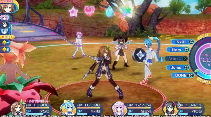 Superdimension Neptune VS Sega Hard Girls PS Vita