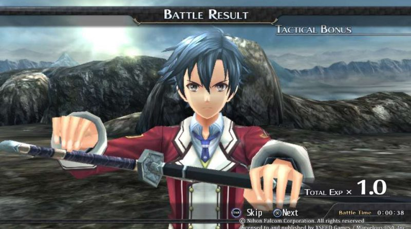 The Legend of Heroes: Trails of Cold Steel II PS Vita PS3