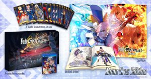 Fate/Extella: The Umbral Star Moon Crux PS Vita Edition