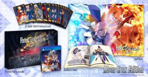 Fate/Extella: The Umbral Star Moon Crux PS4 Edition