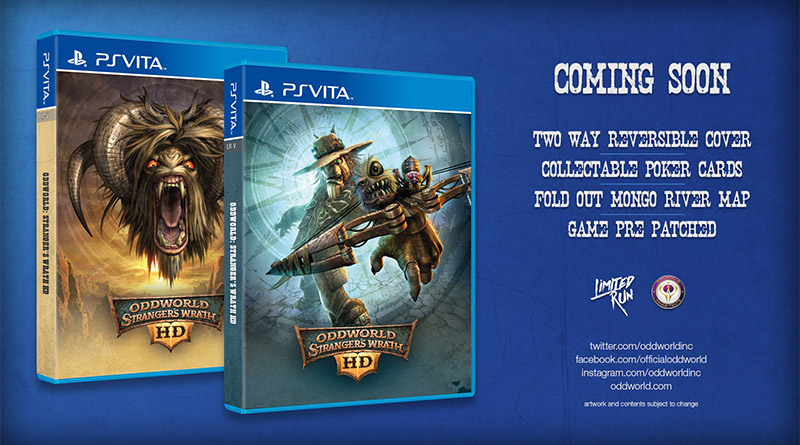 Oddworld: Stranger's Wrath HD Limited PS Vita Edition