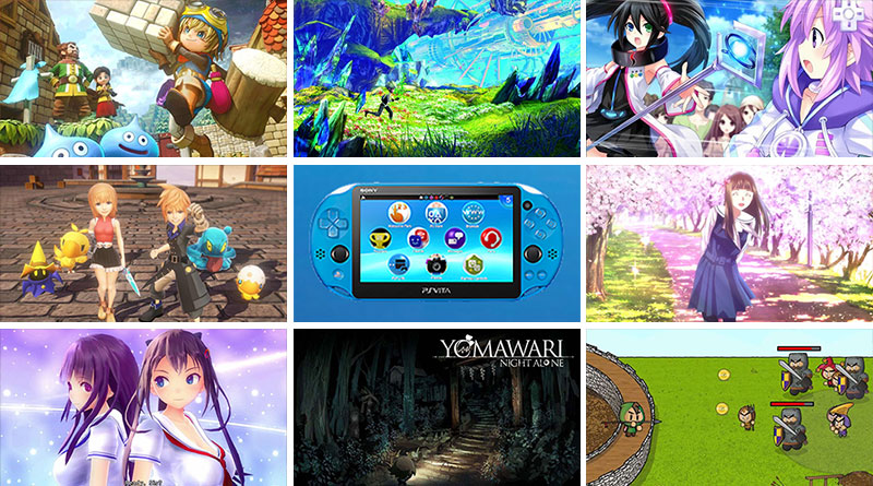 PS Vita New Releases October 2016