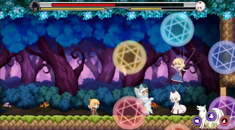 Touhou Double Focus PS Vita PS4
