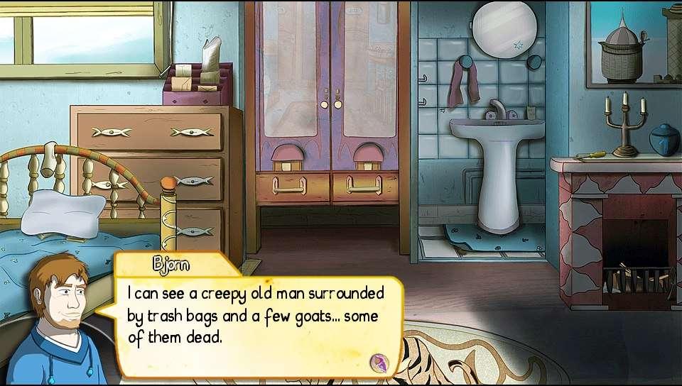 Demetrios - The BIG Cynical Adventure PS Vita
