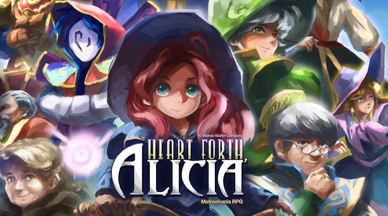 Heart Forth, Alicia PS Vita PS4