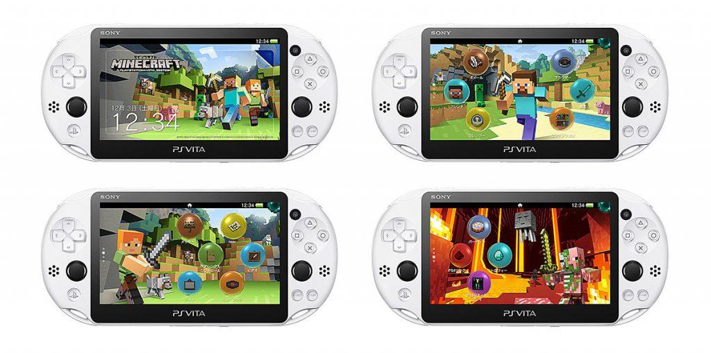 Minecraft PS Vita Special Edition Bundle Themes
