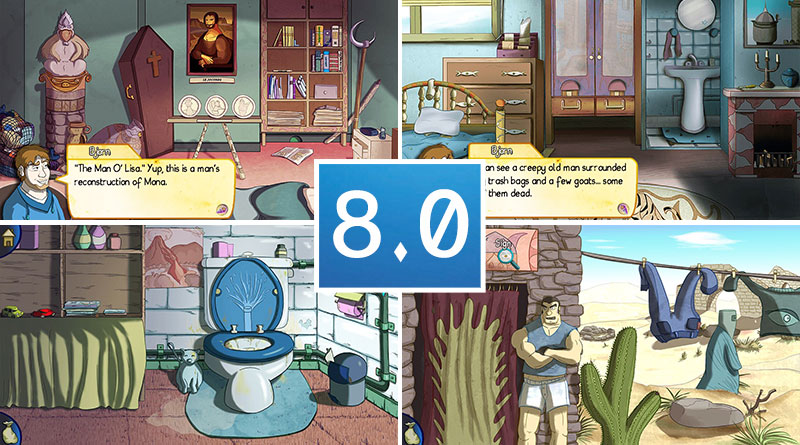 Review Demetrios - The BIG Cynical Adventure PS Vita