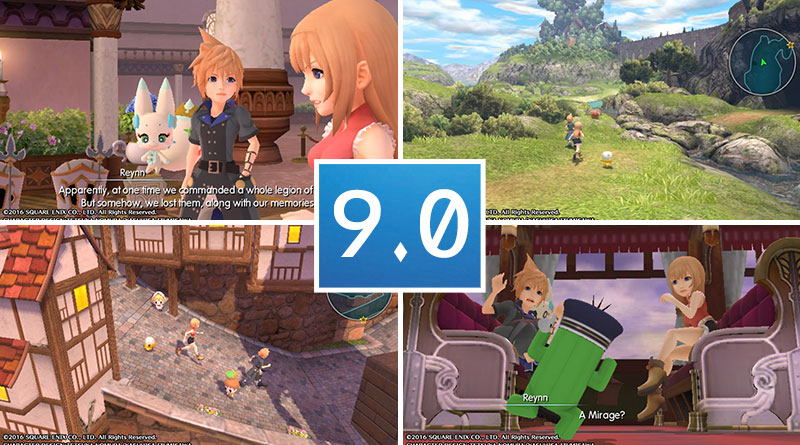Review World of Final Fantasy PS Vita