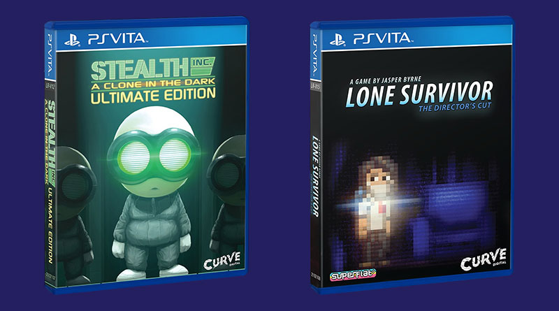 Stealth Inc: A Clone in the Dark Lone Survivor: The Director's Cut PS Vita PS4