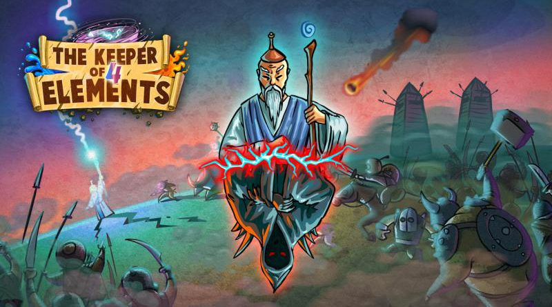 The Keeper Of 4 Elements PS Vita PS4