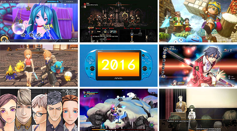 Best PS Vita Games of 2016