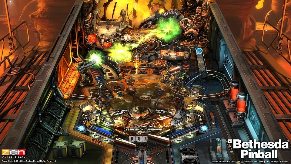 Fallout, DOOM & Skyrim Pinball Tables Arriving Next Week | Handheld