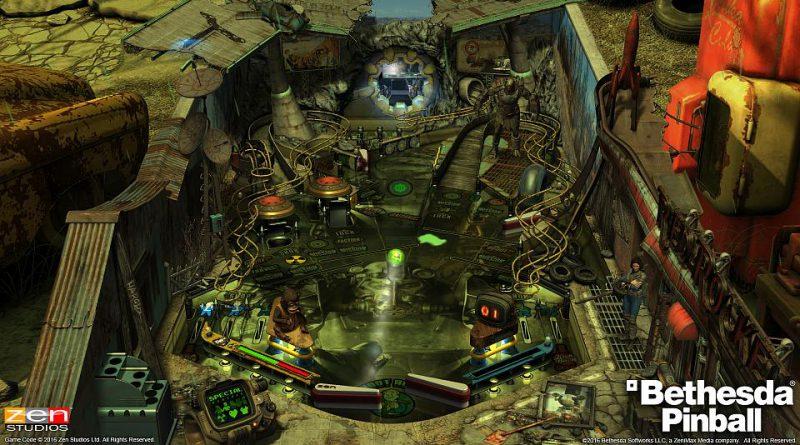 Bethesda Pinball PS Vita PS3 PS4