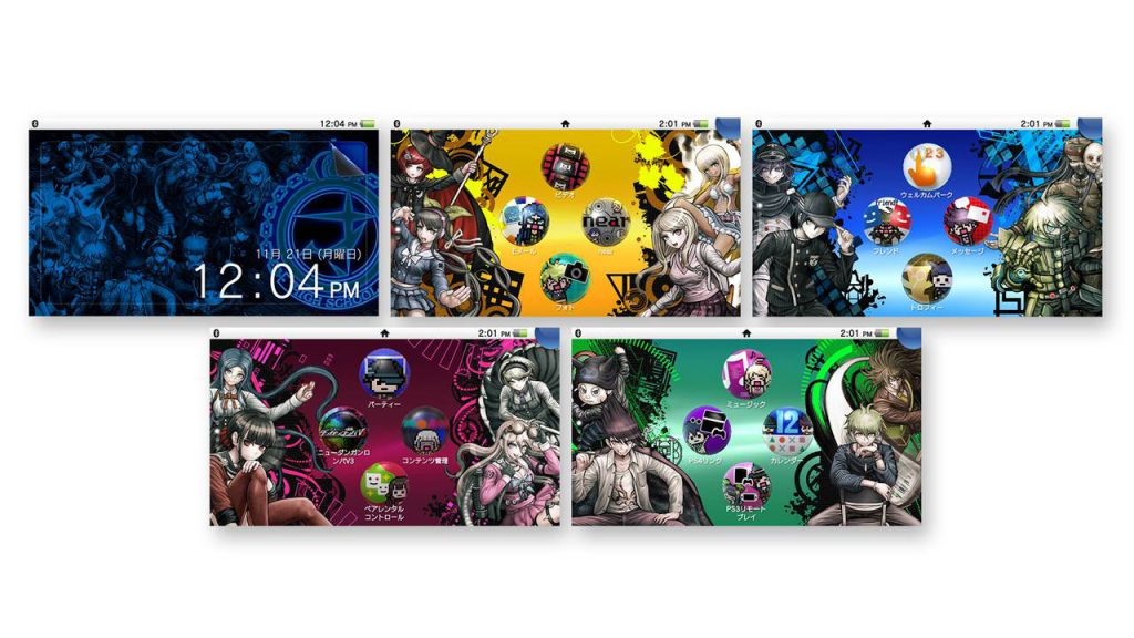 Danganronpa V3 Original PS Vita Theme