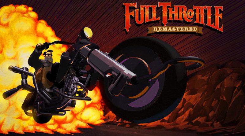 Full Throttle Remastered PS Vita PS4