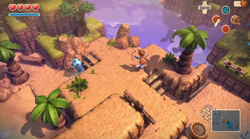 Oceanhorn: Monster of Uncharted Seas PS Vita