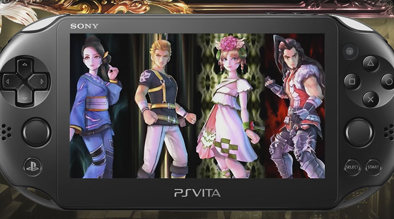 SaGa: Scarlet Grace PS Vita