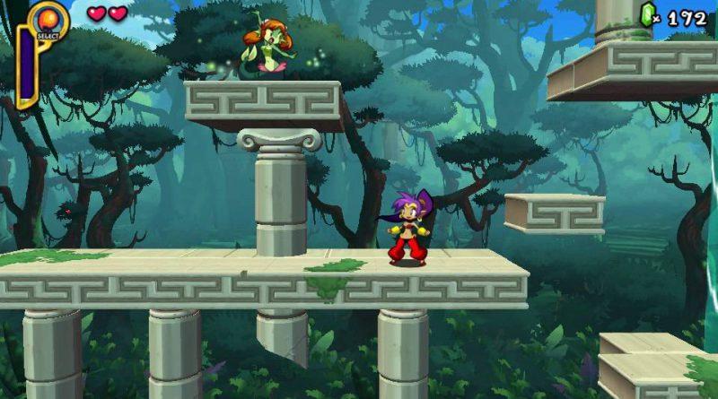 Shantae: Half-Genie Hero PS Vita PS4