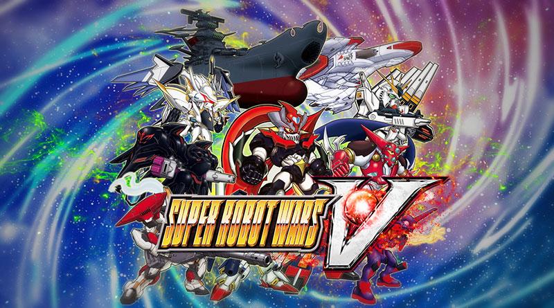Super Robot Wars V PS Vita PS4