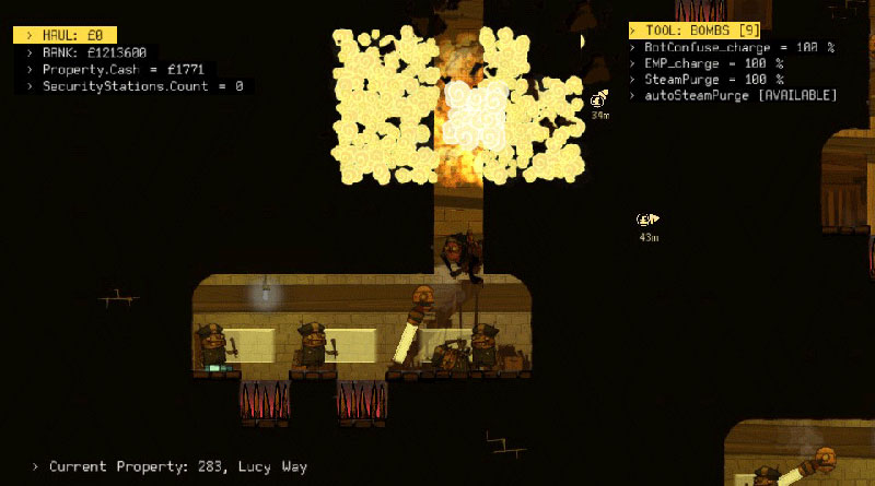 The Swindle PS Vita