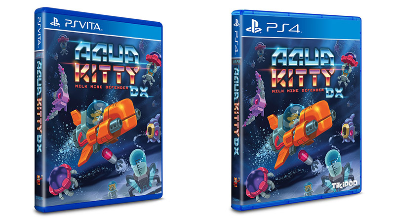 Aqua Kitty DX PS Vita PS4