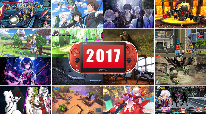 Top 20 Most Anticipated PS Vita Games 2017
