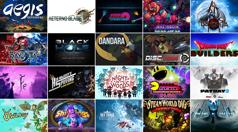 Nintendo Switch New Releases February 2018