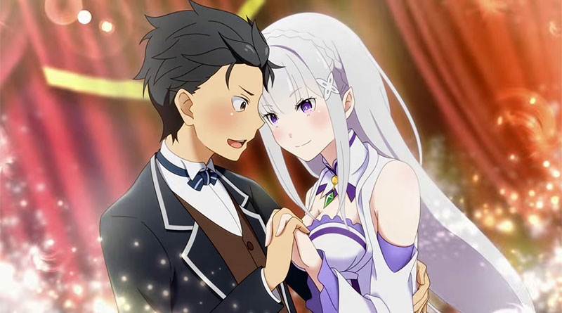 Re:Zero -Starting Life in Another World- Death or Kiss PS Vita PS4