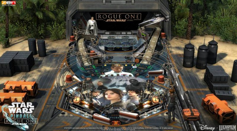 Star Wars Pinball: Rogue One PS Vita PS3 PS4