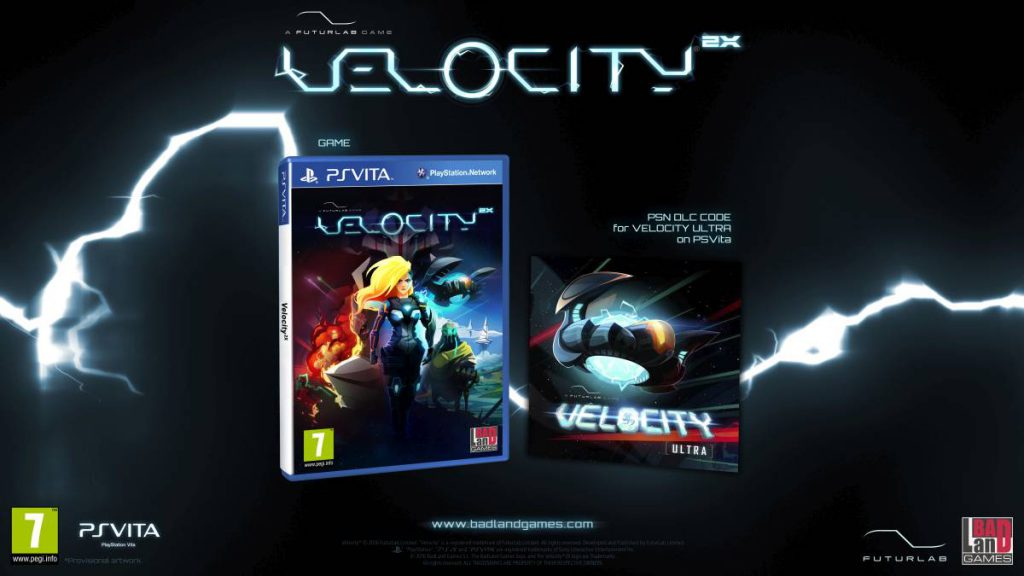 Velocity 2X PS Vita PS4