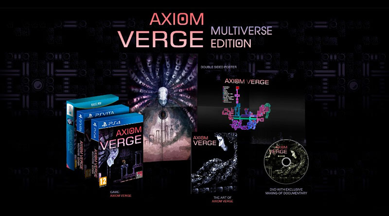 Axiom Verge PS Vita PS4 Wii U