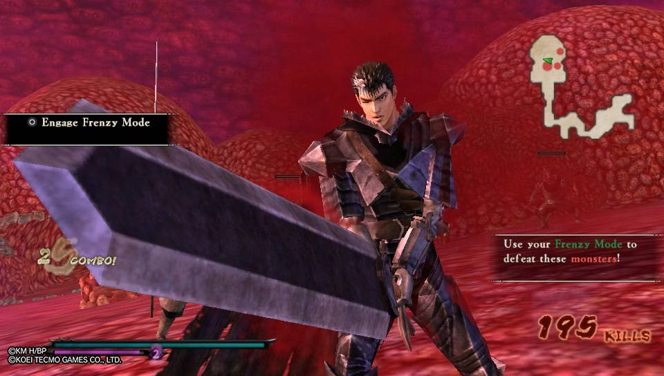 Berserk and the Band of the Hawk PS Vita