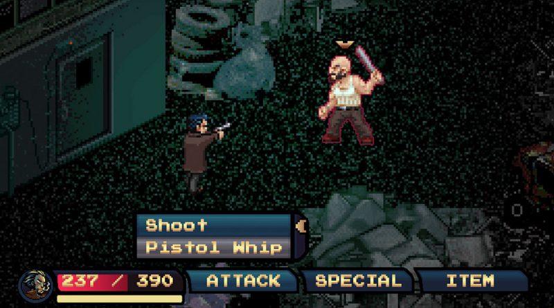 Pixel Noir PS Vita PS4