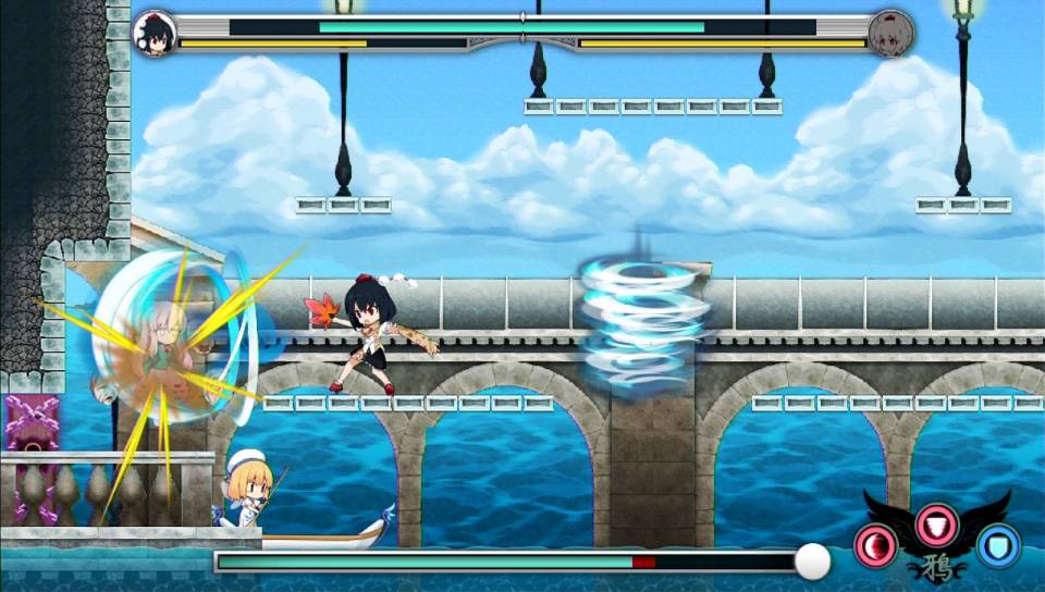 Touhou Double Focus PS Vita PS4