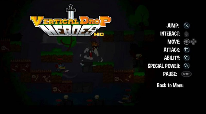 Vertical Drop Heroes HD PS Vita PS4