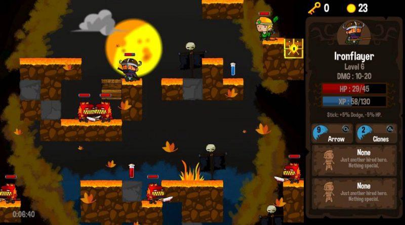 Vertical Drop Heroes HD PS Vita PS4