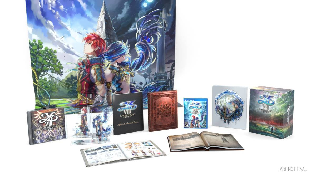 Ys Viii Lacrimosa Of Dana Heading To Ps Vita And Ps4 In