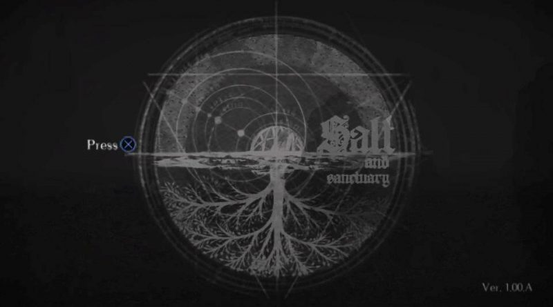Salt and Sanctuary PS Vita