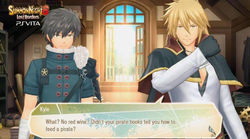 Summon Night 6: Lost Borders PS Vita