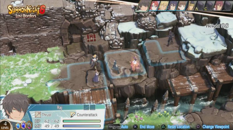 Summon Night 6: Lost Borders PS4 PS Vita