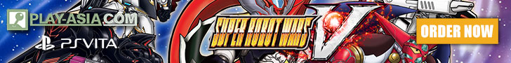 Order Super Robot Wars V for PS Vita from Play-Asia.com