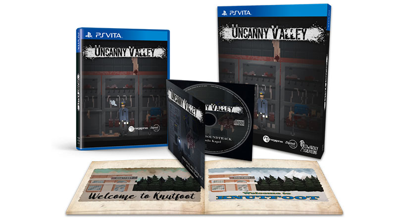 Uncanny Valley Limited PS Vita Edition