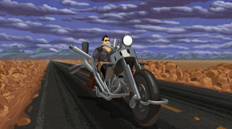Full Throttle Remastered PS Vita