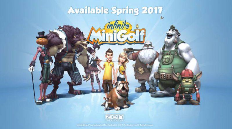 Infinite Minigolf Nintendo Switch