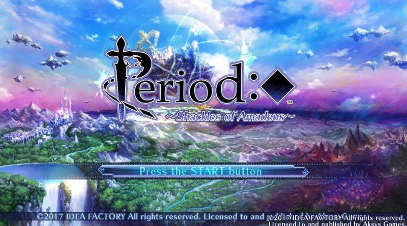 Period: Cube ~Shackles of Amadeus~ PS Vita