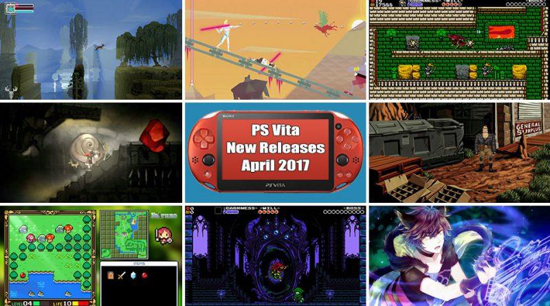PS Vita New Releases April 2017