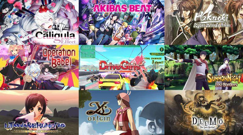 PS Vita New Releases May 2017