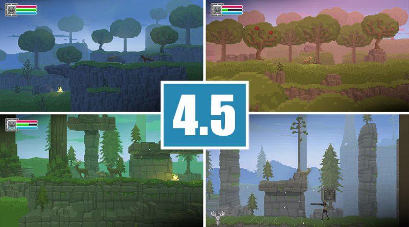 Review The Deer God PS Vita